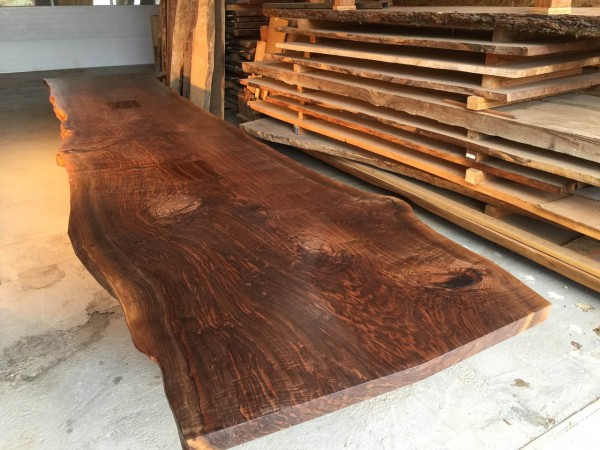 22′ Custom Reclaimed Walnut Tabletop