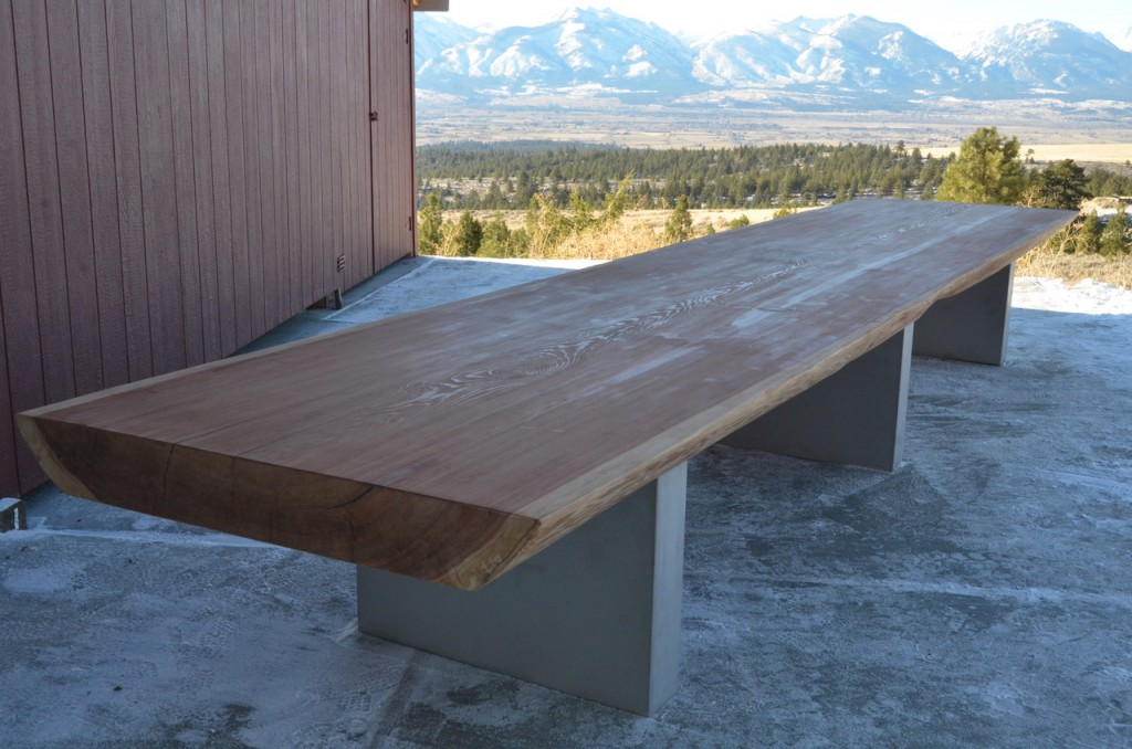 20 foot table dining table leg 20 single redwood slab table 20 foot custom conference table dumonds furniture
