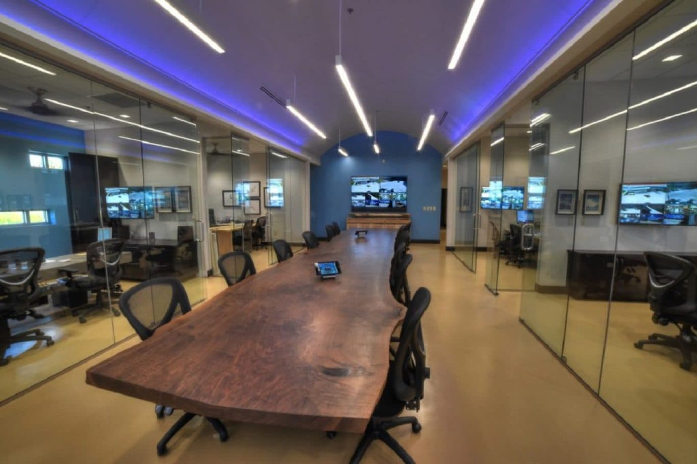 Custom Live Edge Conference Tables