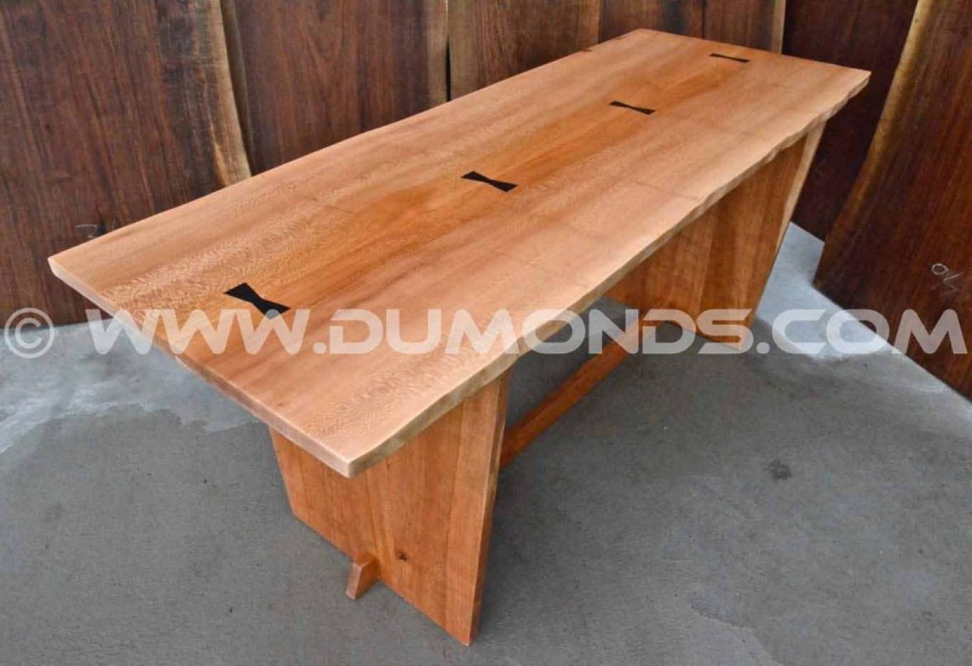 6′ QUARTER SAWN SYCAMORE TABLE