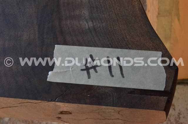 1119″ long Live Edge Dining Table