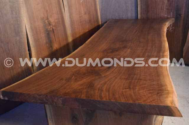 108″ Long Reclaimed Natural Edge Dining Table