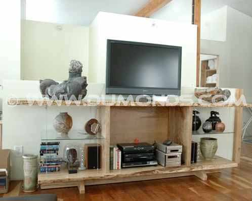 Art Display Cabinet with Video and Audio