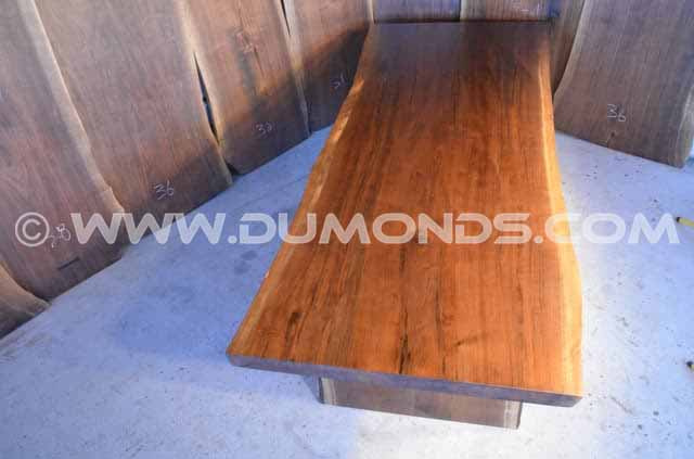 111″ Long Reclaimed Live EdgeDining Table
