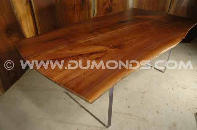 Walnut Slab Custom Dining Room Table