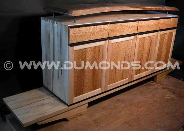 The Martins Custom Live Edge Cabinet