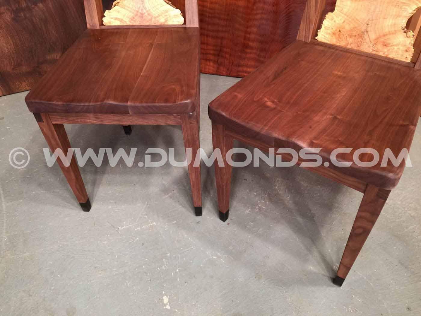 Custom Wood Dining Chairs Dumond S Custom Furniture