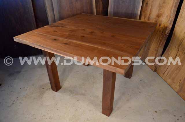 4×4 Walnut Crotch Live Edge Table