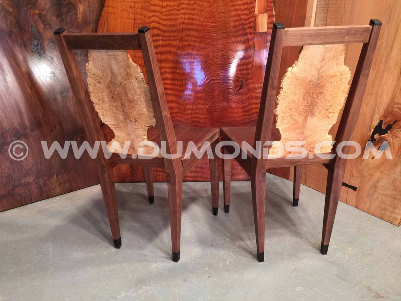 Terrific Custom Wood Dining Chairs Dumonds Custom Furniture Lamtechconsult Wood Chair Design Ideas Lamtechconsultcom