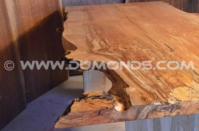 Spalted Maple Burl Dining Table