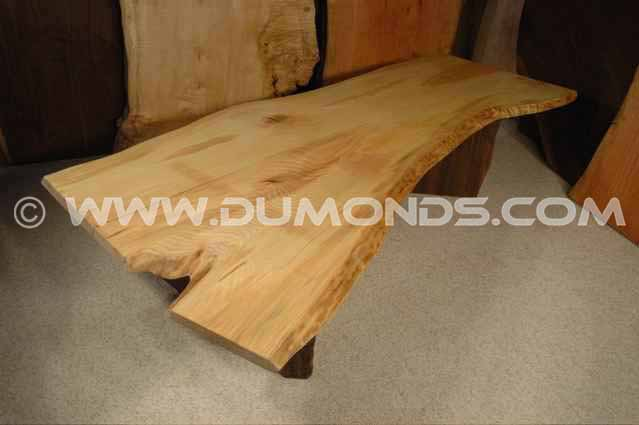 6′ Ash Crotch Slab Custom Coffee Table
