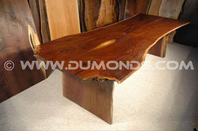 Walnut Live Edge Custom Rustic Dining Table