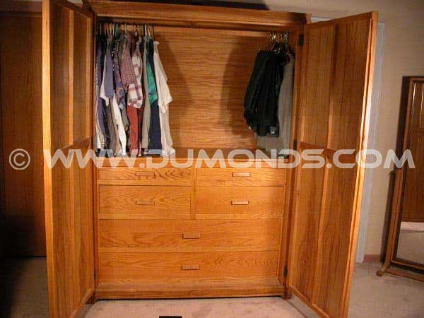 Custom Armoire / Custom Wardrobe Cabinet