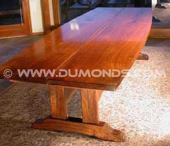 Book matched custom corporate conference table