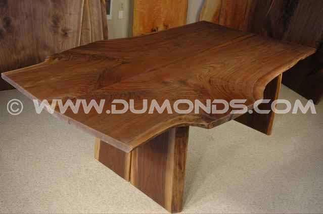 Walnut Slab Boardroom Table