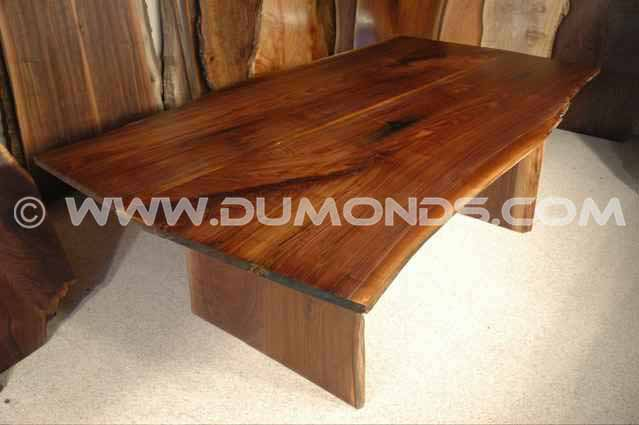 Walnut Slab Custom Made Kitchen Table