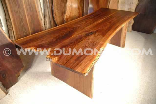 Walnut Crotch Slab Kitchen Table