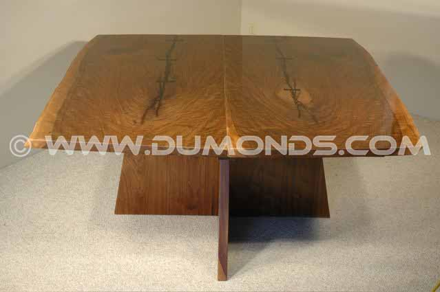 Walnut Rustic Slab Desk