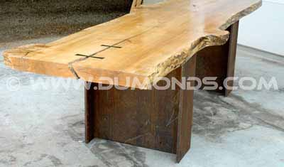 Burl Maple Boardroom Table