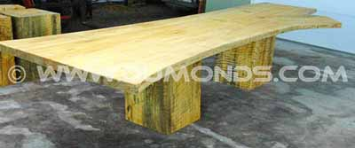 Ginko slab table top
