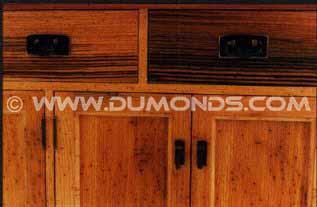 Custom Hutch / China Cabinet – Rustic Oak