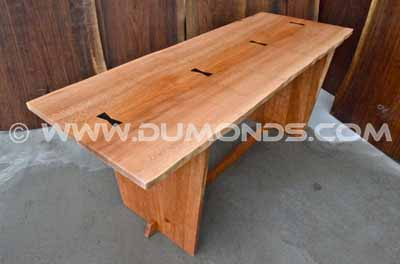 Quarter sawn Sycamore table