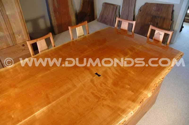 Walnut Slab Table 02
