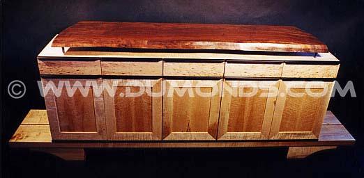 Live Edge Cabinets