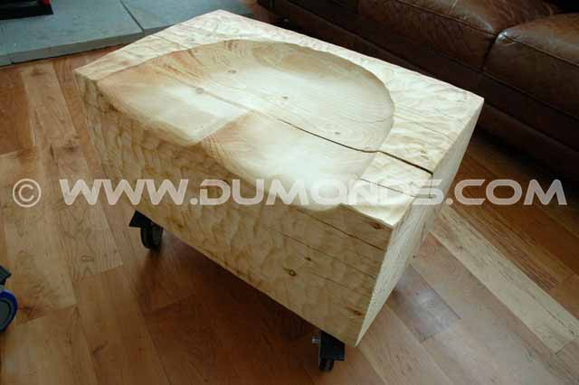 Custom Pine Stool