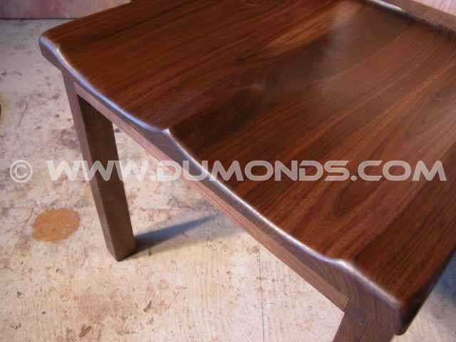 Martins Walnut & Cherry Wood Rustic Chair