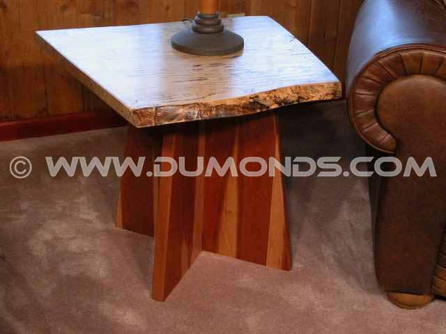 tapered cherry end table