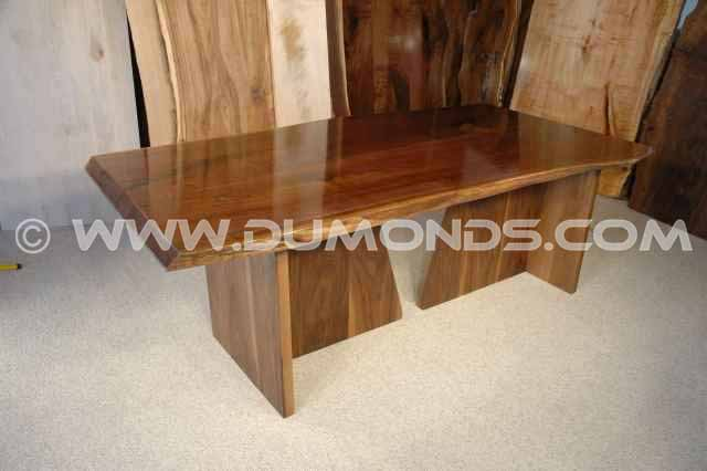 Pennsylvania Cherry Bookmatched Slab Table