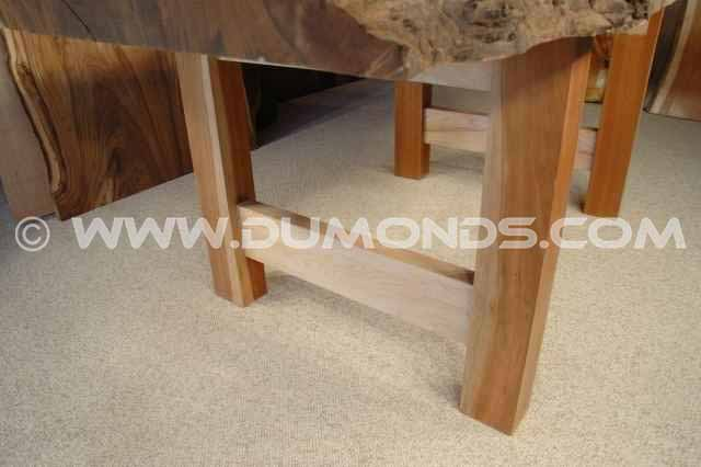 Bookmatched Maple Crotch Table