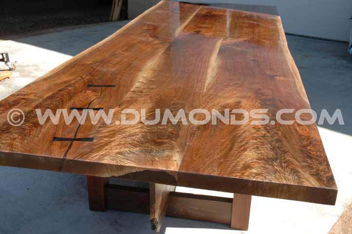 Figured Walnut Conference Table