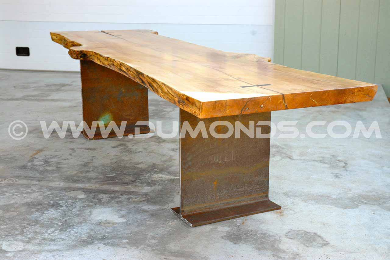 Maple Burl Conference Table