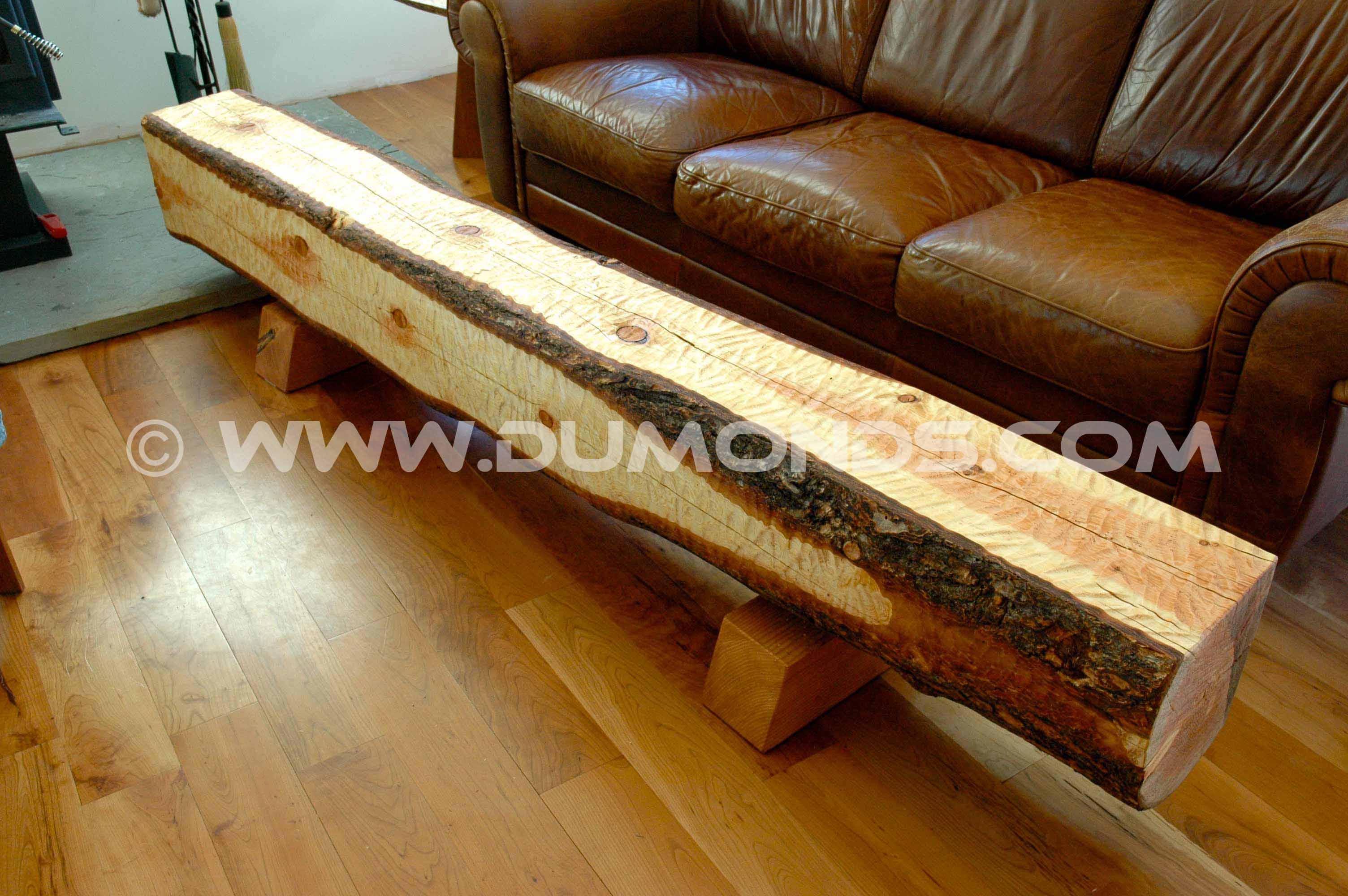 bench live edge