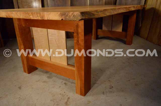 Reclaimed Old Wood Dining Room Table Base