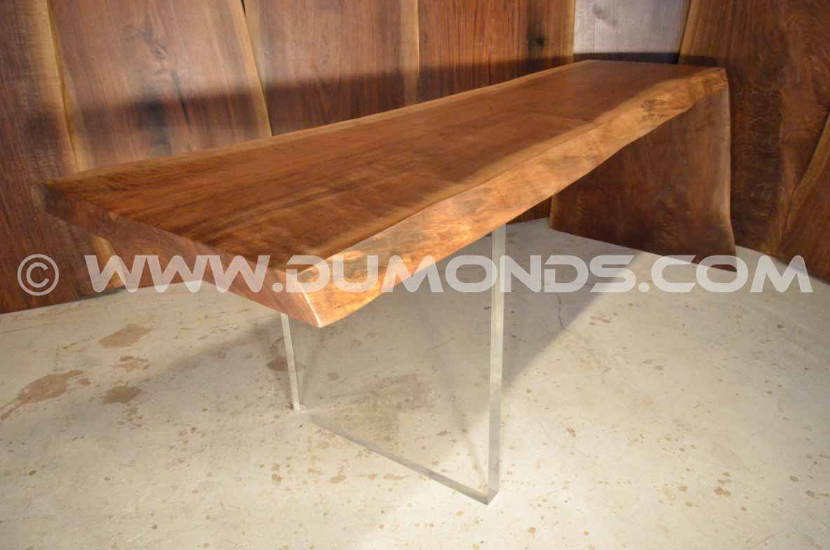 Natural Edge Walnut Table