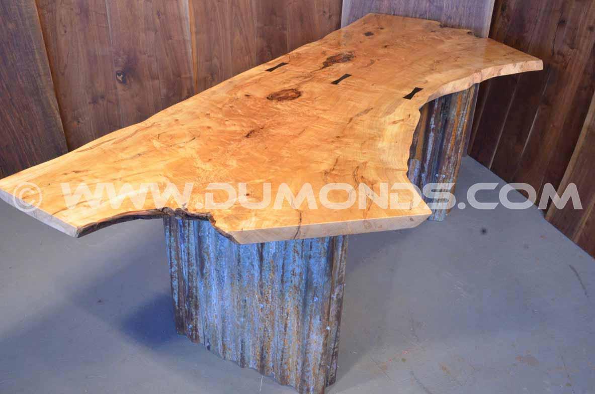 maple crotch desk