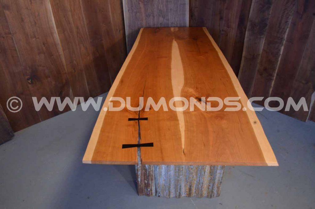 7-8′ Pennsylvania Cherry Natural Edge Top