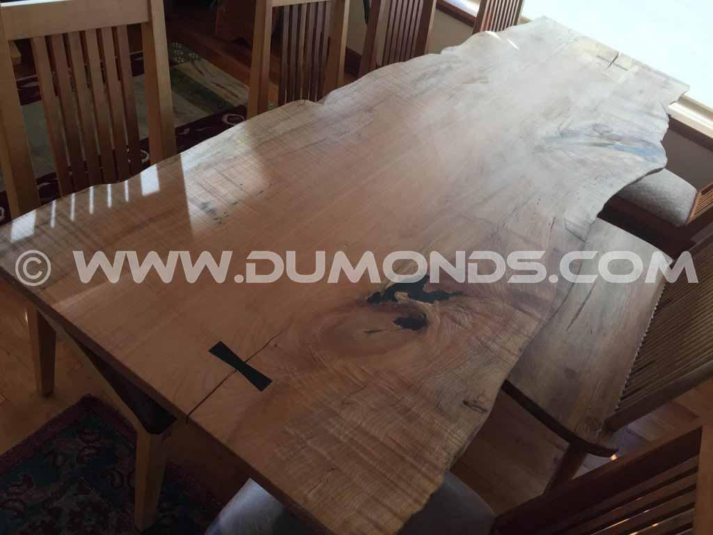 Curly Maple Custom Tabletop