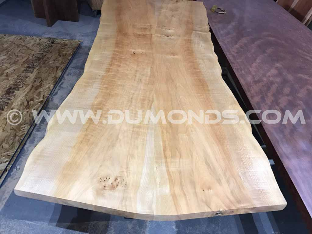 8′ Maple Natural Edge Tabletop
