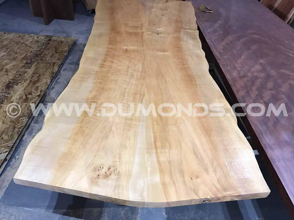 8′ Maple Slab Tabletop