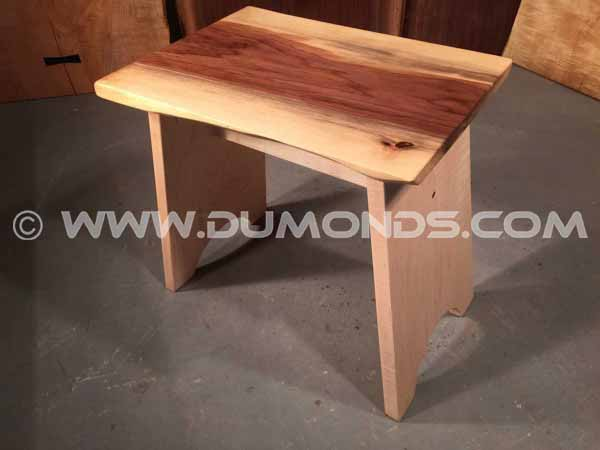 Custom Walnut Stool