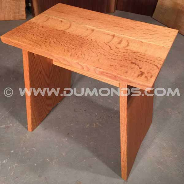 Quarter Sawn Oak Stool