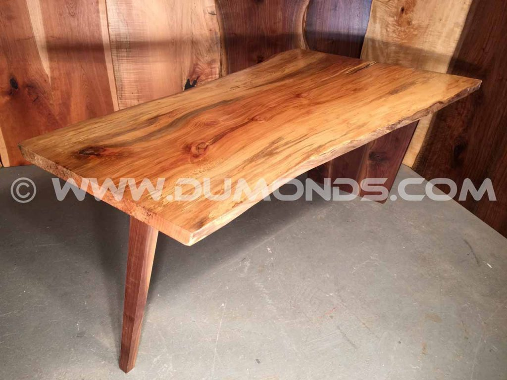 6′ Spalted Sycamore Salvaged Hardwood Table