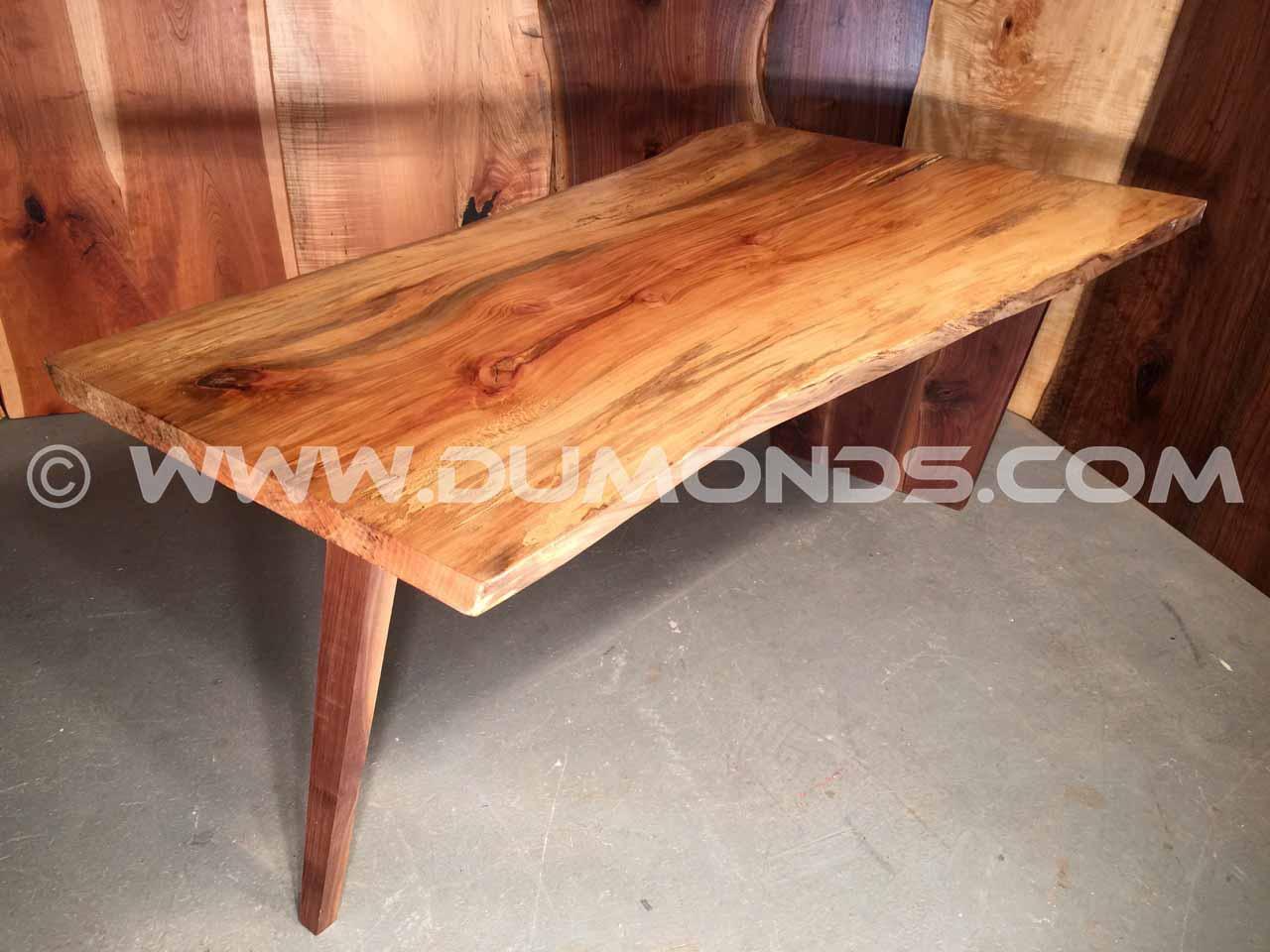 salvaged urban maryland hardwood table