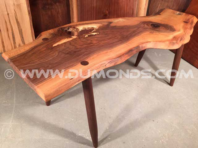 Reclaimed Walnut Bench
