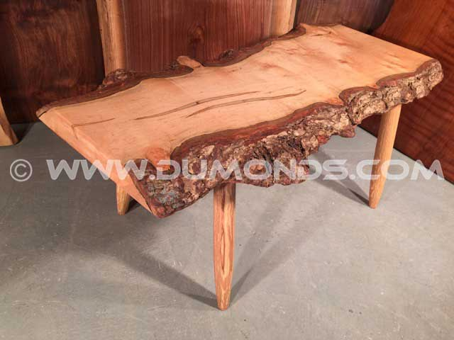 Maple Slab Bench