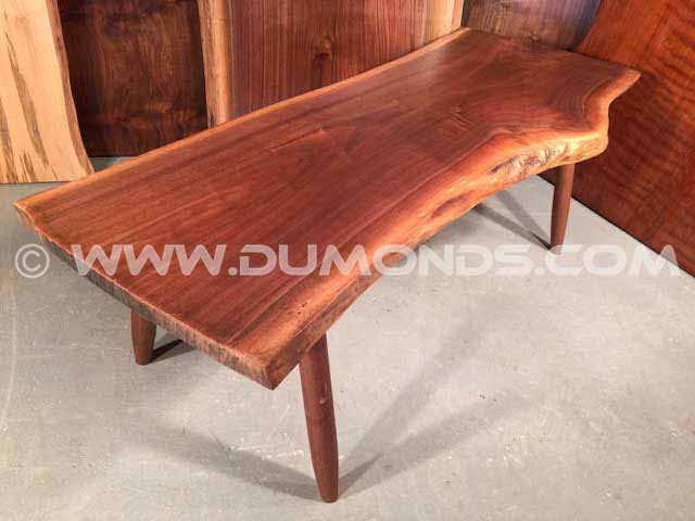 Unique Walnut Bench